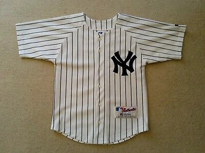 New York Yankees Russell Athletic Baseball Jersey Age/size 8