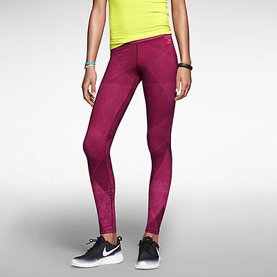 NIKE FAST TRACK ETCHED PRINT Hyper Pink 616814 639 Size XS