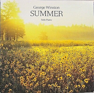 Summer by George Winston, Piano [CD, Oct-1991, Windham Hill Records]
