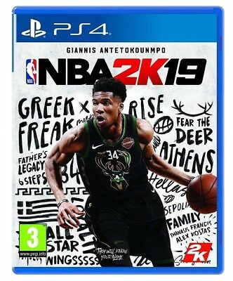 Nba 2K19 Ps4 Eu Playstation 4 - Giannis Antetokounmpo - Promo
