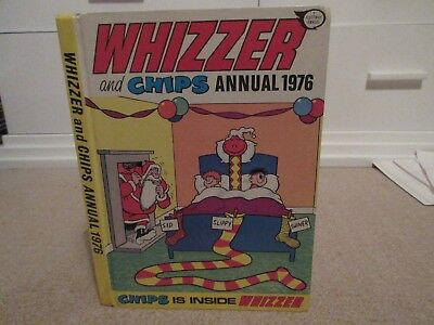 Whizzer And Chips Annual, 1976 - Good Condition