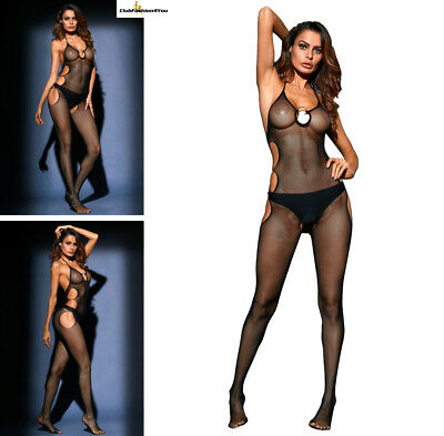 Hot Reizwäsche Fishnet Body Stocking Catsuit Netz Body Unterwäsche |H| 79959-2