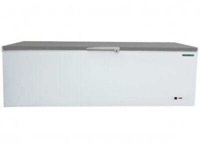 Stainless Steel Lid Chest Freezer - 300ltr