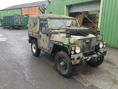 LAND ROVER 1980 SIII (3) LIGHTWEIGHT FULL FFR 24V PETROL ex MoD good running ord