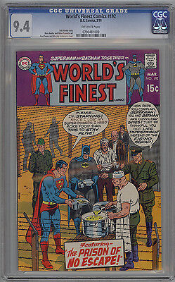 World's Finest Comics # 192 CGC 9.4 NM Curt Swan & Murphy Anderson Cover 1970