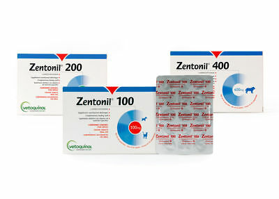 Vetoquinol Zentonil Advanced 30 Tabletten 100mg 200mg 400mg ★TOP PREIS★