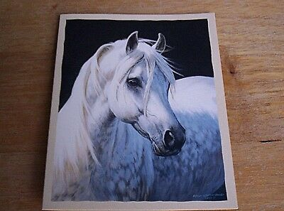 16 Blank Note Cards CLASSIC IN GRAY by Persis Clayton Weirs Gray Arabian  NIB