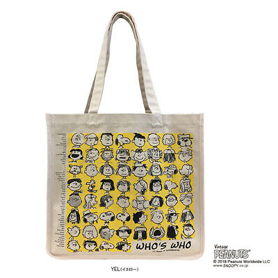 fe089fdac1 Rootote x Peanuts Snoopy RT SC Grande canvas tote bag ladies Free Shipping  Japan