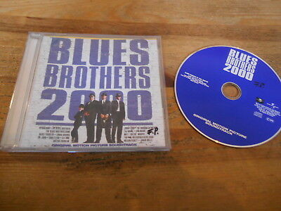 CD OST Soundtrack - Blues Brothers 2000 (18 Song) UNIVERSAL REC