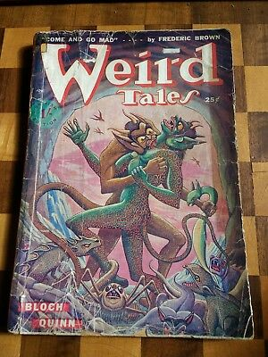 Weird Tales Jul 1949 Fredric Brown, Bloch, Leiber, Coblentz