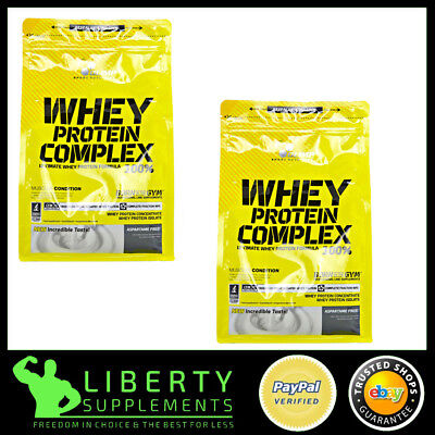 Olimp 100% Whey Protein Complex 2.27Kg Lean Muscle BCAA  + Free Samples