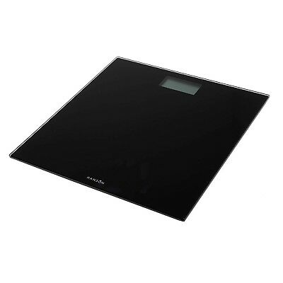 Hanson HX6000 Electronic Bathroom Scale Black Weighing Scales NEW BOXED