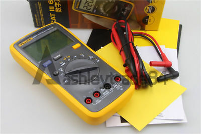FLUKE 15B+ Digital multimeter Tester DMM with  test leads NEW