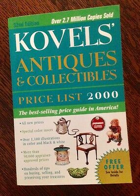 Kovels' Antiques & Collectibles Price List - Year 2000 - Over 50,000  Prices