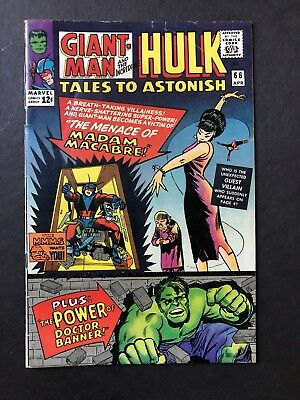 Tales to Astonish #66 - Apr 1965, Marvel VG+/Fine condition