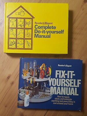 Readers digest complete diy manual ceo news vtg readers digest fix it diy manuals lot of 2 handyman books appliance solutioingenieria Image collections