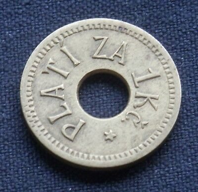 Unidentified Foreign Token: Vintage?  Eastern Europe? Poland?  Czech? Other?