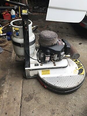 Aztec Sidewinder 30 Inc 150 Hours Propane Stripper Stripping Machine