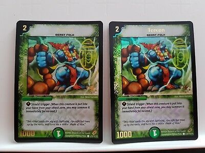Duel Masters - 2x Torcon - Promo
