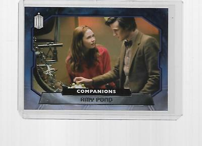 2015 Topps Doctor Who Companions Amy Pond #c-2