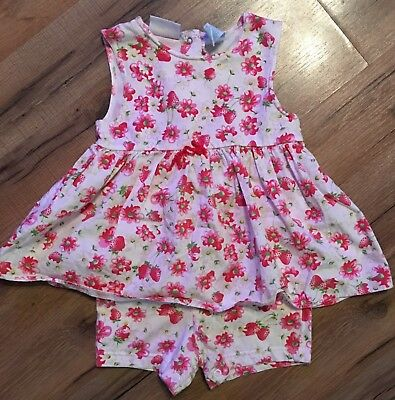 Toddler Girls One-Piece Spring outfit, Miniwear Brand Outfit Size 36 Months