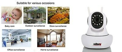 IP Wi-Fi security dome camera wireless surveillance remote access home vigilance