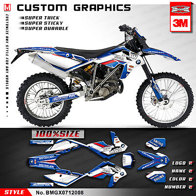 Motorcycle Graphic Vinyl Sticker Kit for BMW G450X 2007 2008 2009 2010 2011 2012