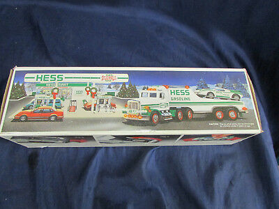 Hess Toy Truck And Racer 1988 W/Box