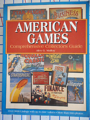 The American Games : Comprehensive Collector's Guide by Alex G. Malloy-2000, pbk
