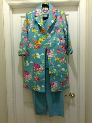 Maggie Sweet 3 Piece Micro-Fiber Size Large Floral And Solid Bright Bubbly