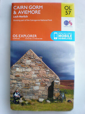 403 Ol57 Cairn Grom & Aviemore  Explorer Inc Download, Ordnance Survey Map, Os