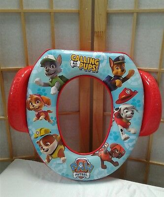 Nickelodeon Paw Patrol Calling All Pups Soft Potty Seat