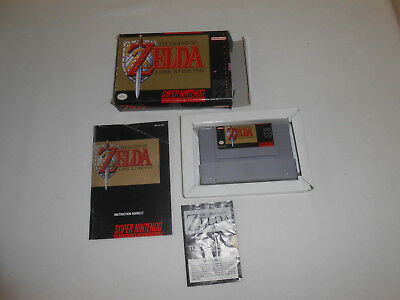 The Legend of Zelda: A Link to the Past Super Nintendo Entertainment System SNES