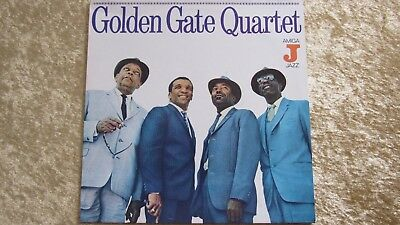 LP - Golden Gate Quartett - Vinyl - Amiga DDR  855064 1980