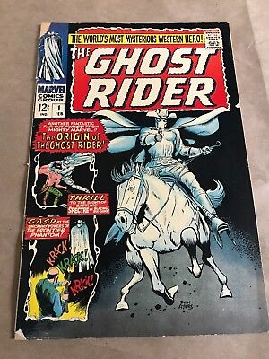 The Ghost Rider #1 Comic Book (Marvel,1966) +