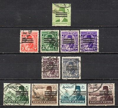 Egypt very nice cancelled heads collection ,stamps as per scan(5391)