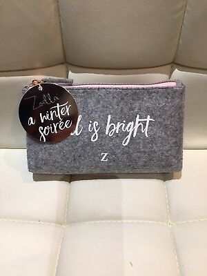 Zoella Makeup Bag With Hand Cream & Perfume Rollerball
