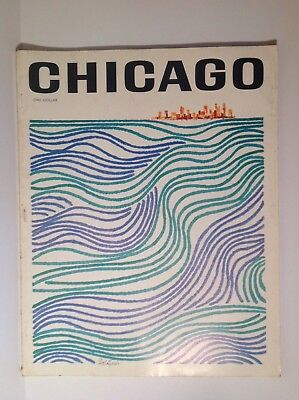 Vintage 1964 CHICAGO Magazine Charter Issue Great Articles /Pics / Advertising