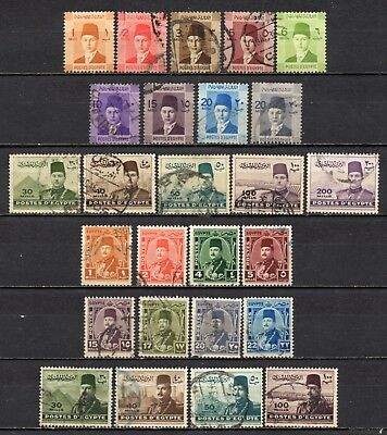 Egypt very nice mixed older era collection ,stamps as per scan(5393)