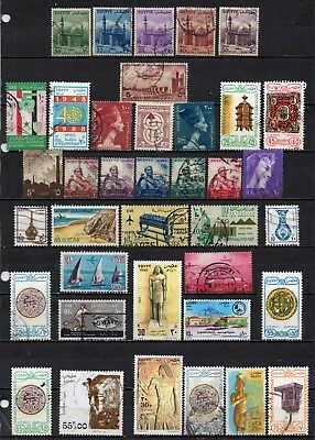 Egypt very nice mixed era collection ,stamps as per scan(5396)