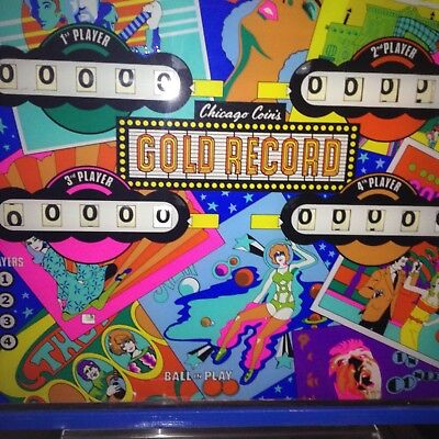 Gold Record Pinball Machine