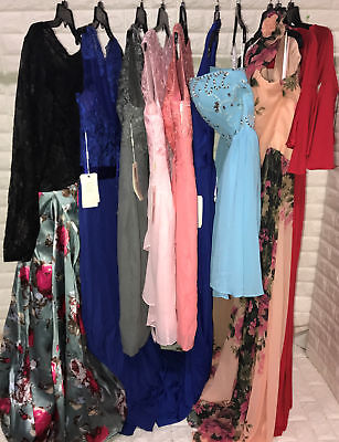 wholesale lot of 10 Women's Prom Bridesmaid dresses Formal Party Gown 78-10