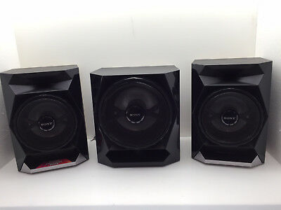 SONY 2 SPEAKERS 1 SUBWOOFER SS GPX555 WGP555 FOR LBT Audio