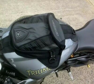 OGIO Super Mini Tanker Magnetic Motorcycle Motorbike Oil Fuel Tank Saddle Bag