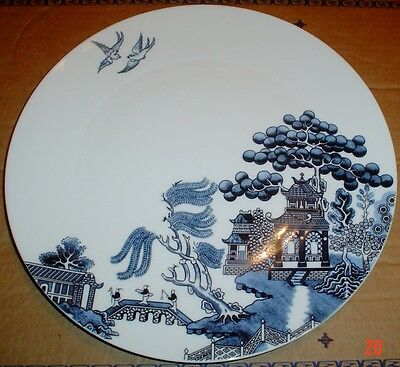 Johnson Brothers WILLOW BLUE Large Dinner Plate Dishwasher Microwave Safe