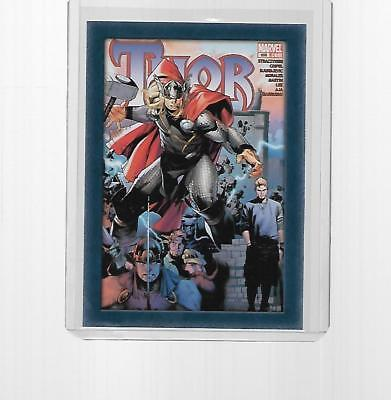 2011 Upper Deck Marvel Thor Comic Covers Insert #t12