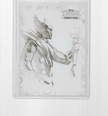 2011 Upper Deck Marvel Thor Concept Art Insert #c1