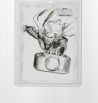 2011 Upper Deck Marvel Thor Concept Art Insert #c13