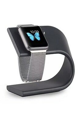Apple Watch Charging Stand.  Black Aluminum.  Stylish. Ships From U.S.