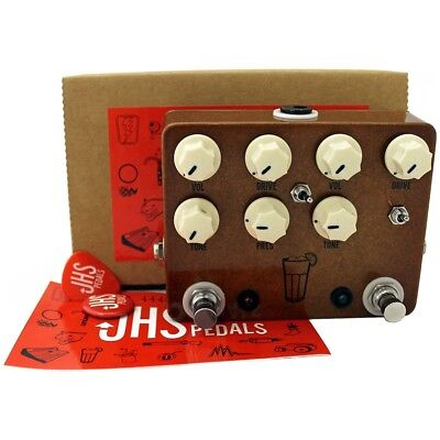 JHS Sweet Tea V2 Dual Overdrive Moonshine Angry Charlie Guitar Effects Pedal
